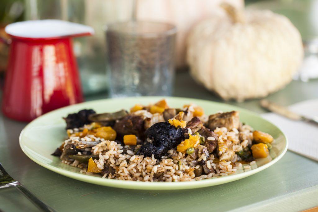 arroz de calabaza