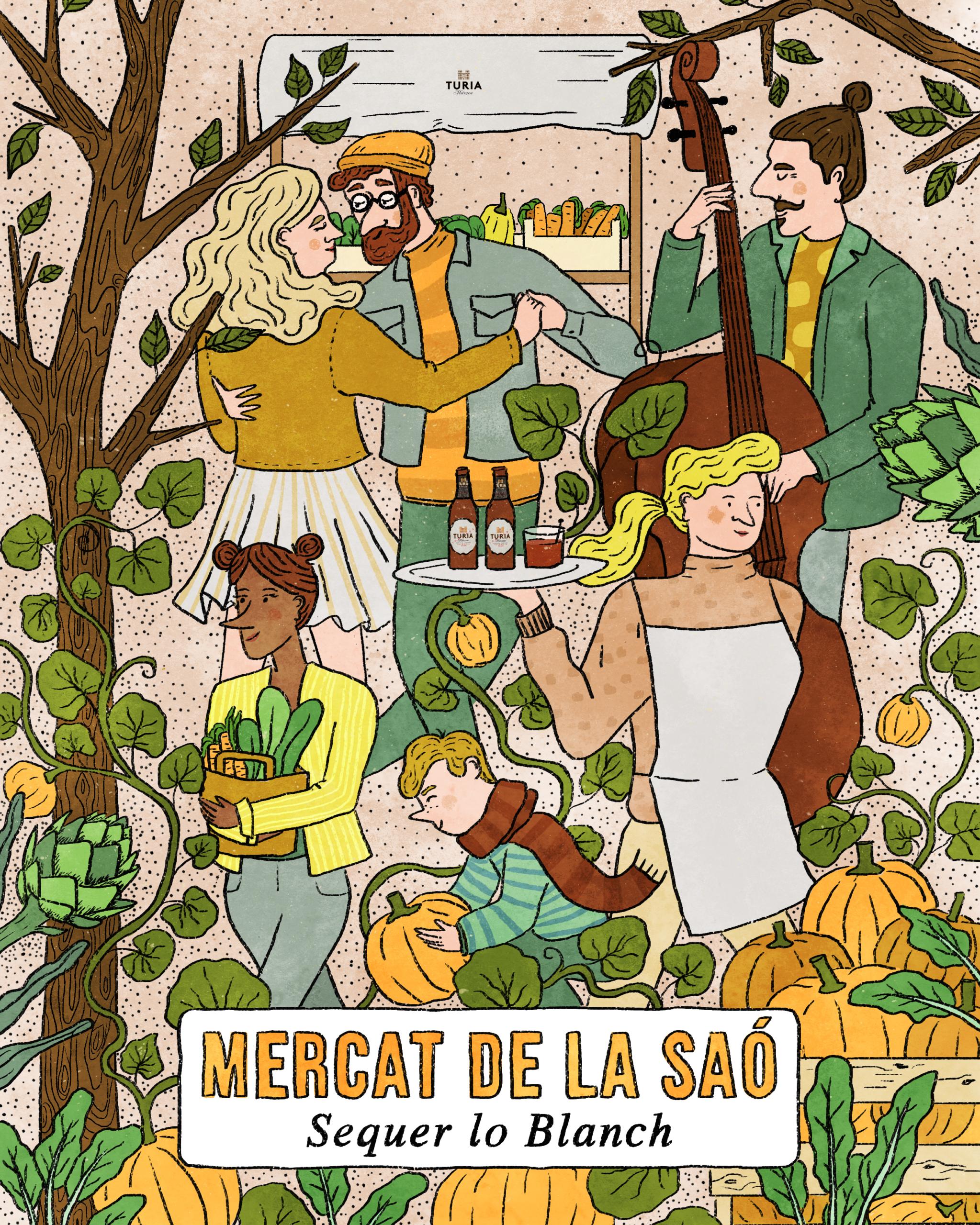 Mercat de la Saó noviembre
